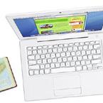 キター白と黒のMacBook