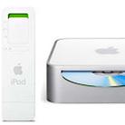 Mac mini、iPod Shuffle登場